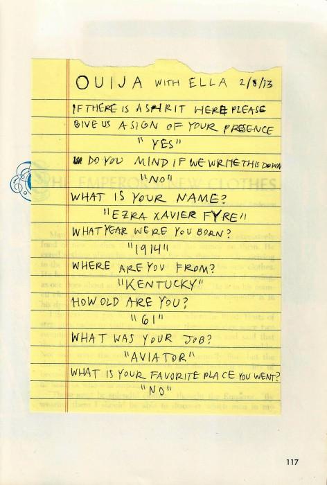 Rookie » Ouija Board, Ouija Board