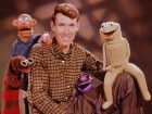 Jim Henson with the cast of Sam and Friends.  Via Muppet Wiki.