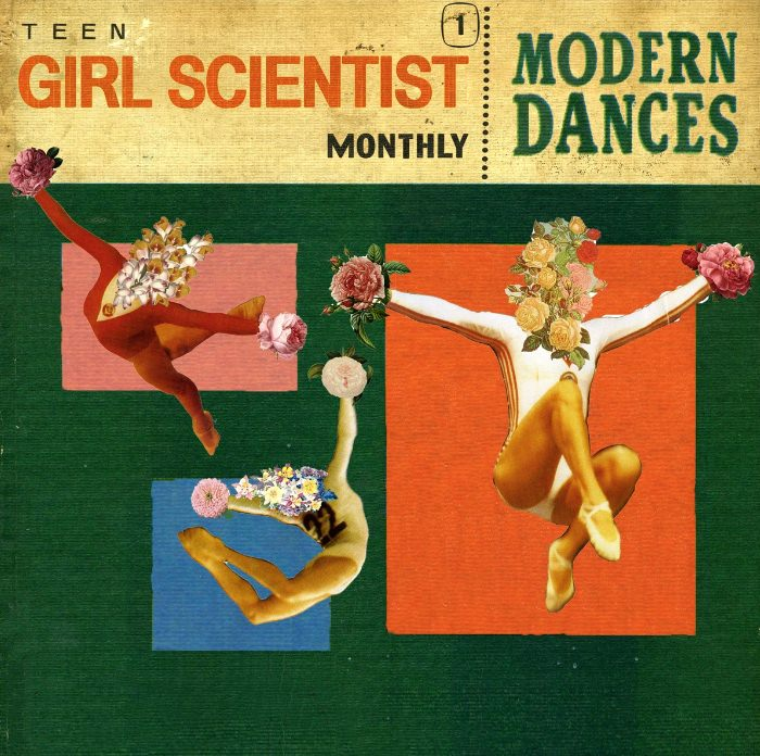 Album cover: Modern Dances (2013) by Teen Girl Scientist Monthly, via Bandcamp.