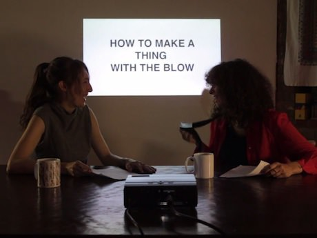 Sunday Video: How to Make a Thing With the Blow