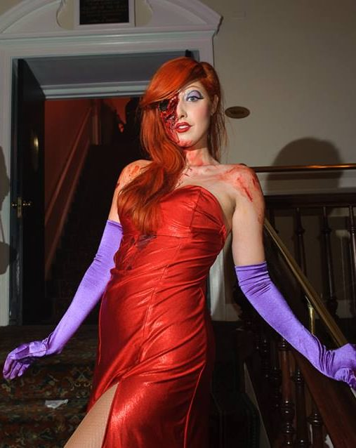 ...and as Dead Jessica Rabbit. (Brooklyn)