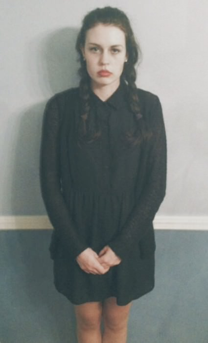 Ally as Wednesday Addams. (Andover, Massachusetts)