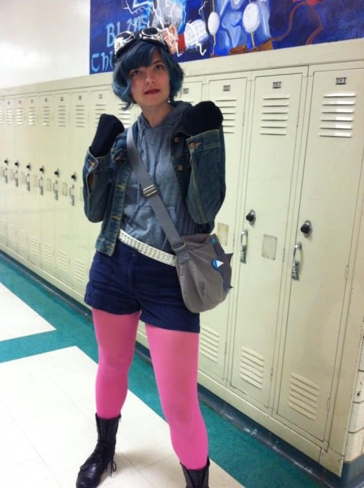 Victoria as Ramona Flowers.
