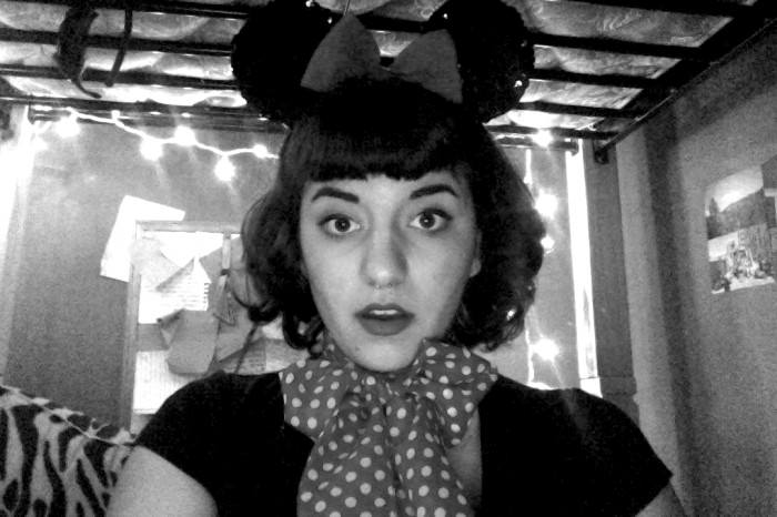 Laura as Minnie Mouse. (Washington State)