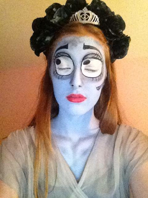 Inez as the Corpse Bride. (London)