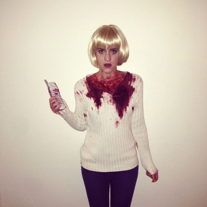 Alex as Casey Becker from Scream. (New York City)