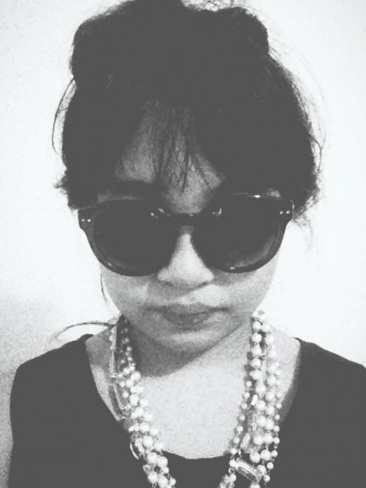 Puka as Holly Golightly...