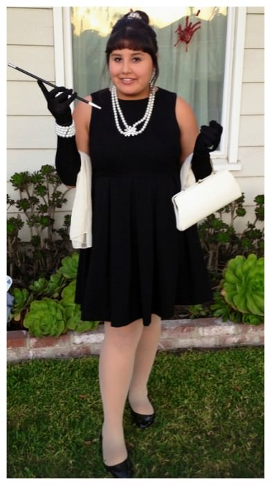 Andrea as Holly Golightly. (West Covina, California)