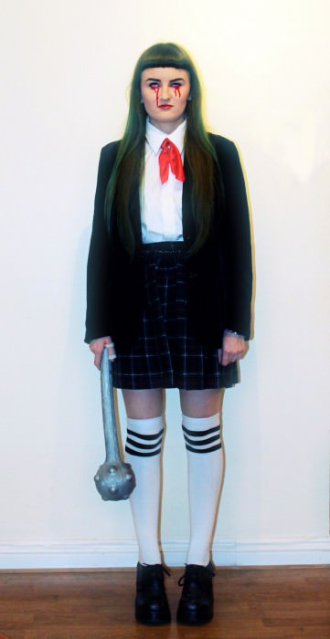 Beth as Gogo Yubari from Kill Bill. (London)