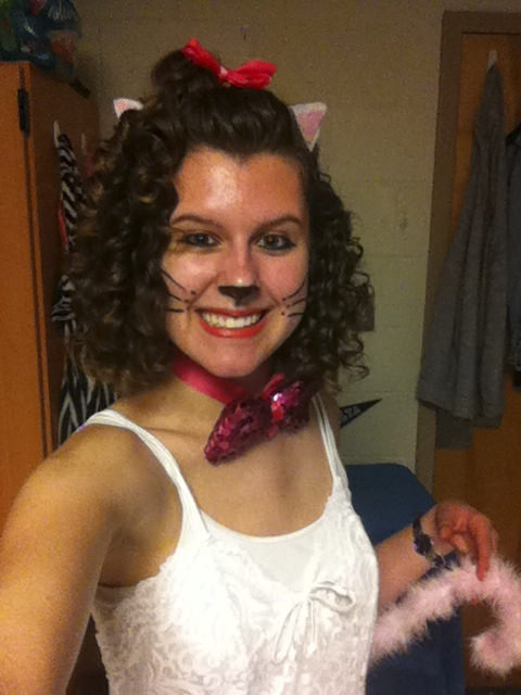 Emily as Marie from The Aristocats. (Northern Virginia)