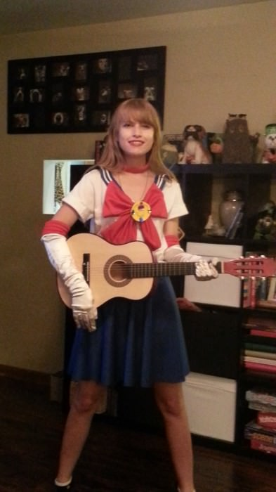 Adriana as Sailor Swift, aka Taylor Moon. (Plainfield, Illinois)