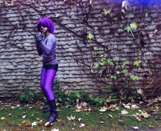 Bianca as Hit-Girl from Kick-Ass. (Toronto)