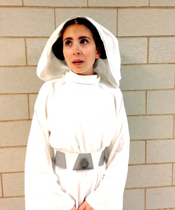 Nicole as Princess Leia. (Pennsylvania)