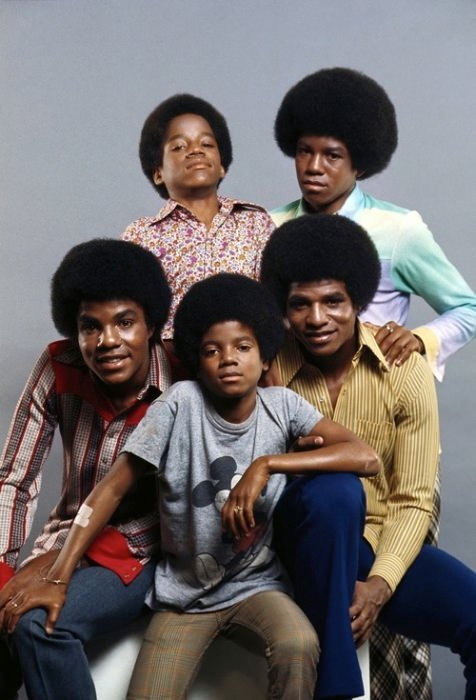 Jackson 5, 1971. Via Michael Ochs Archives.