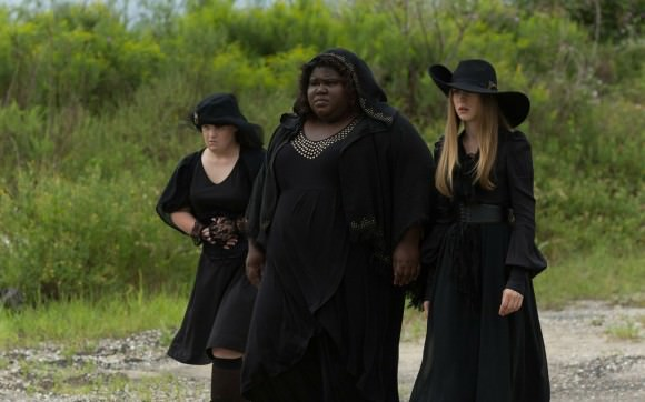 Gabourey Sidibe, center, in American Horror Story: Coven.
