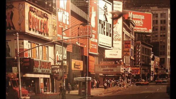 Times Square in New York City, circa 1970s. Via Flickr. Original source unknown.