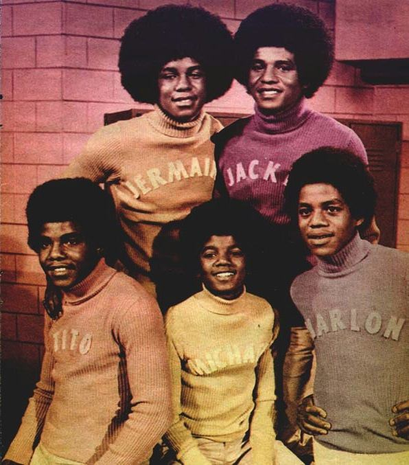 Jackson 5, circa 1970s. Via Fanpop! Original source unknown.