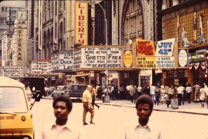New York City, 1975. Via Friends Reunited.