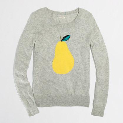 1 Jcrew pear sweater