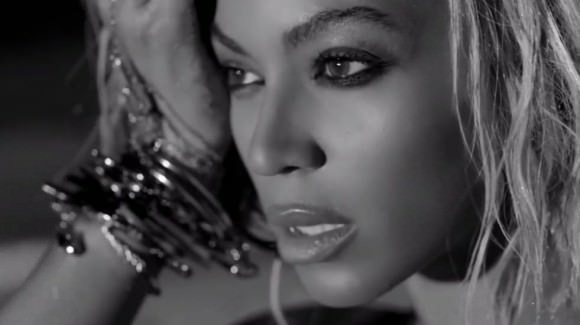 "A still from the video for ""Drunk in Love."""