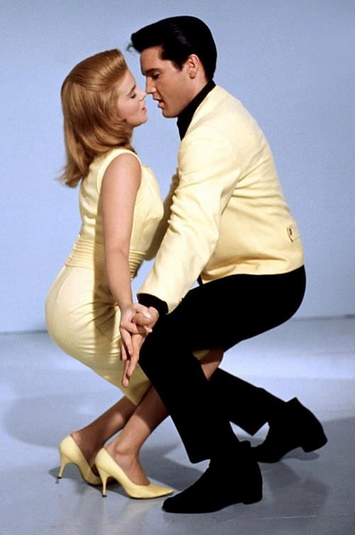 Movie still of Ann-Margret and Elvis Presley in Viva Las Vegas, 1964. Via Tumblr.