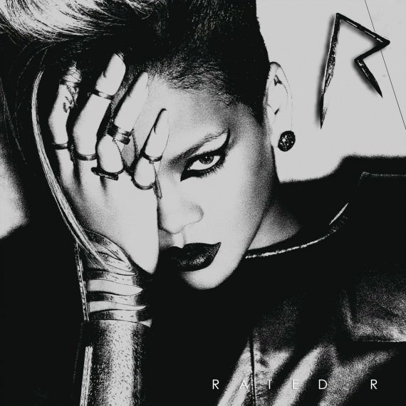 Cover of Rated R by Rihanna.