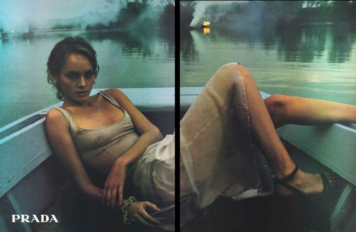 Photo by Glen Luchford for Prada, 1997.