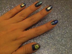 DIY UFO Manicure