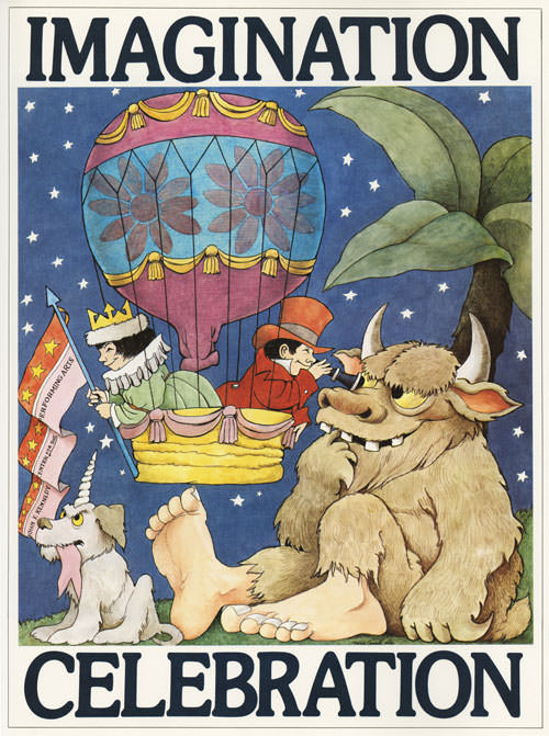 Poster by Maurice Sendak, via Brain Pickings.