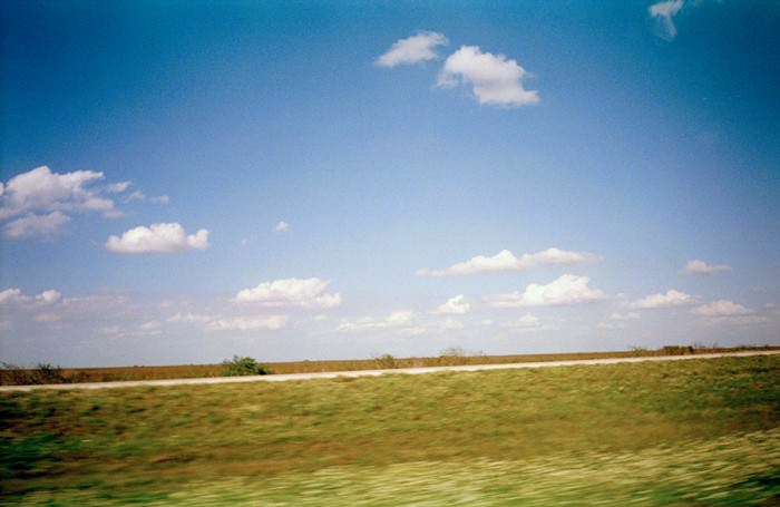 Somewhere between Sarasota and Fort Lauderdale, Florida.