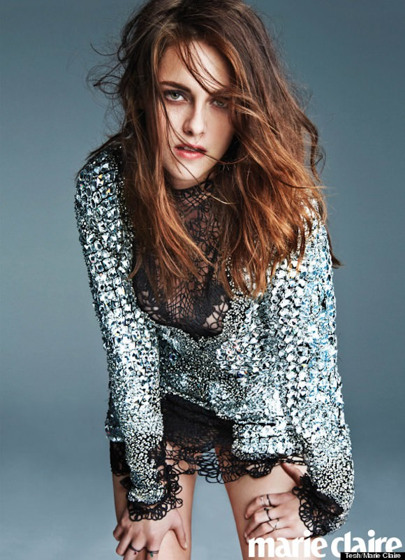 Kristen Stewart photographed for Marie Claire by Tesh.