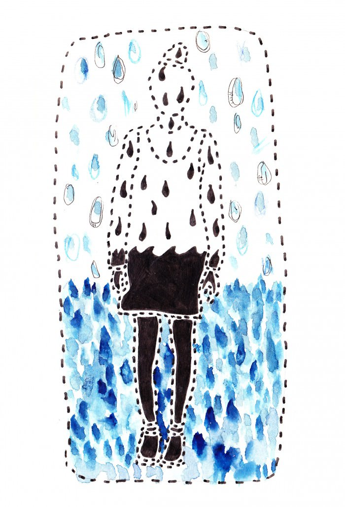 """So.much.rain."" —Caitlin"