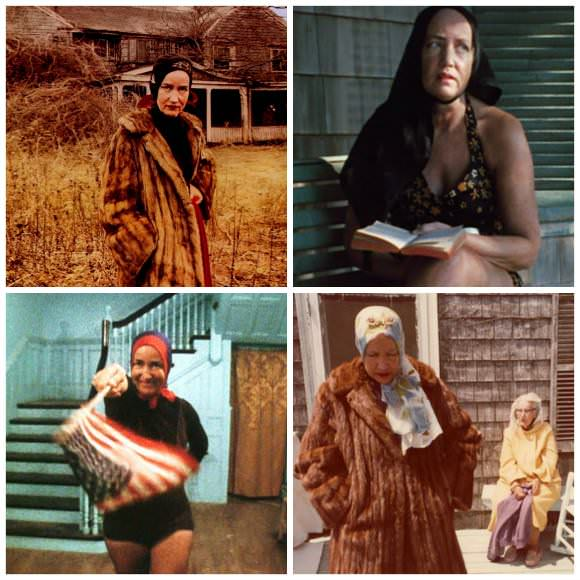 Stills from Grey Gardens, 1975.
