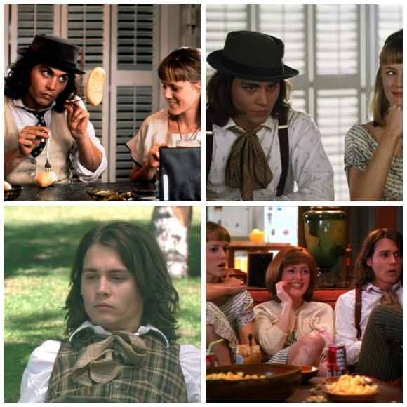 Stills from Benny & Joon, 1993.