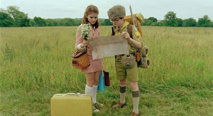 Still from Moonrise Kingdom (2012) by Wes Anderson.