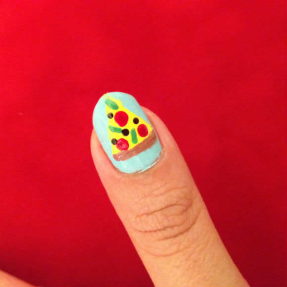 Pizza Mani Step 8