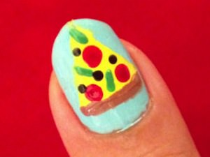 DIY Pizza Manicure