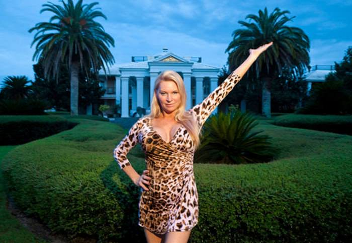 "Jackie Siegel, from Lauren Greenfield's documentary ""The Queen of Versailles."" Photo by Lauren Greenfield/Institute."
