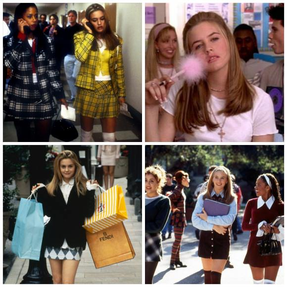 Movie stills from Clueless (1995).