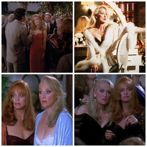 Stills from Death Becomes Her (1992).