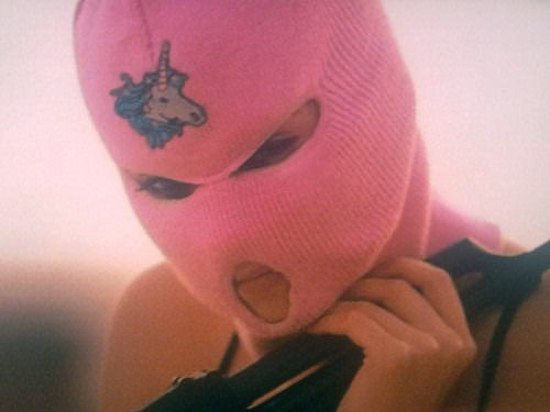 From Spring Breakers (2012).