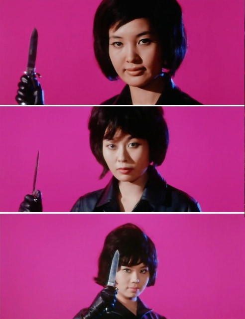 Stills from Black Tight Killers, 1966.