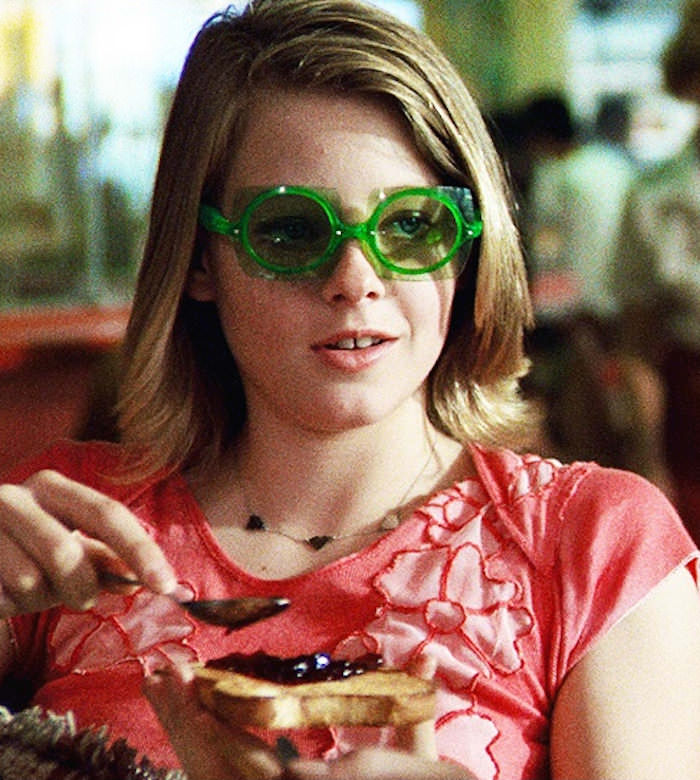 Jodie Foster in Taxi Driver, 1976.
