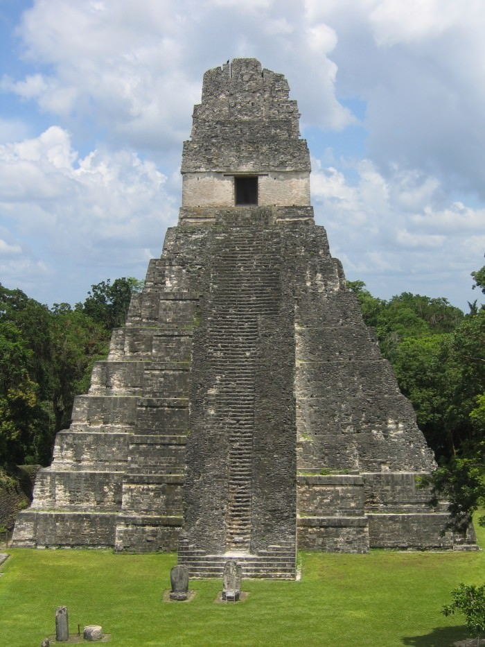 One of Tikal's temples.