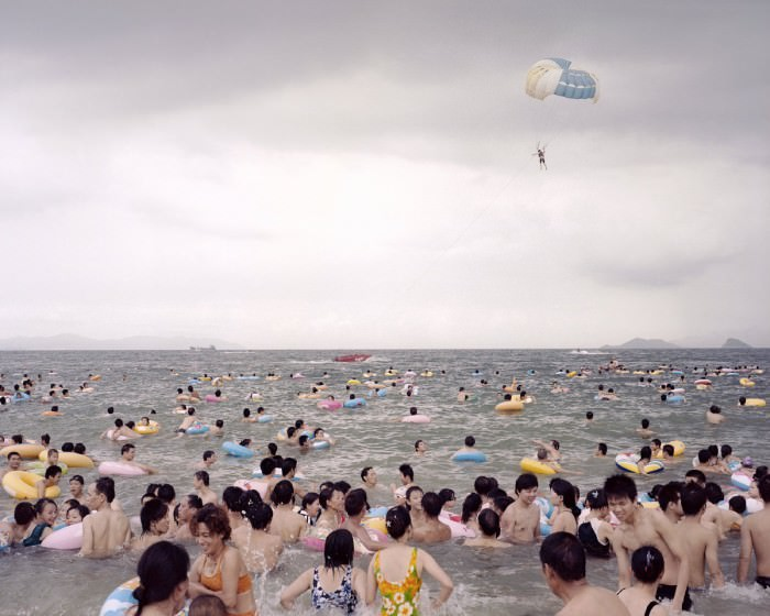 Coastline No-002  (2009) by Zhangxiao, via Gallery Magda Danysz.