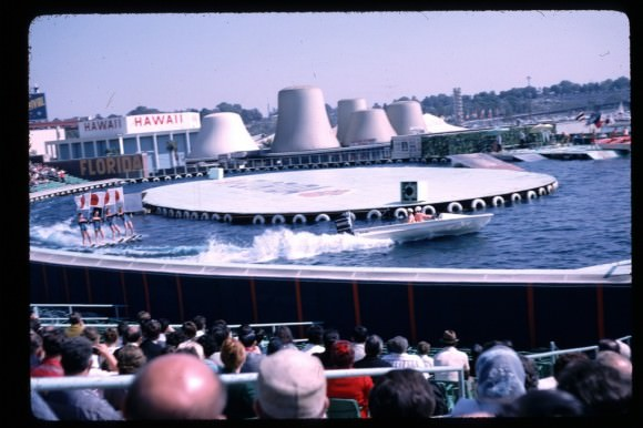 Water-based wonderment at the 1964 World's Fair, via the New York Times.