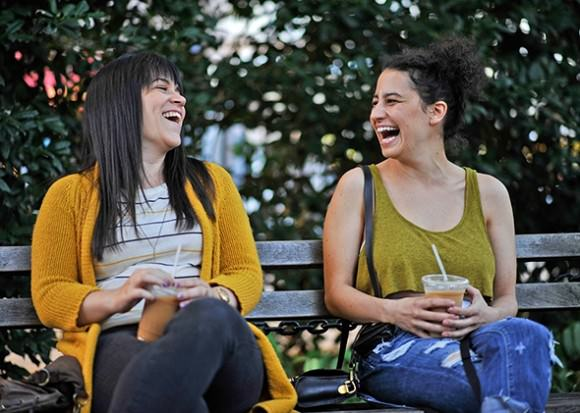 Abbi and Ilana, our favoritest girls. Still from Broad City via Slate.
