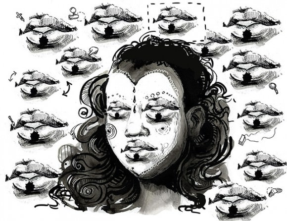 Illustration by Molly Crabapple for VICE.