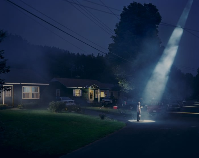 Untitled (Beer Dreams) (1998) by Gregory Crewdson.