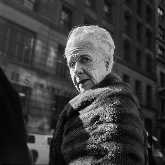 One of Vivian Maier's many, many subjects. Photo courtesy Maloof Collection/Howard Greenberg Gallery via The New Yorker.